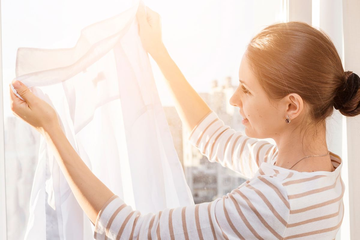 Cómo desinfectar la ropa